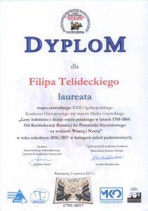 dyplom filip