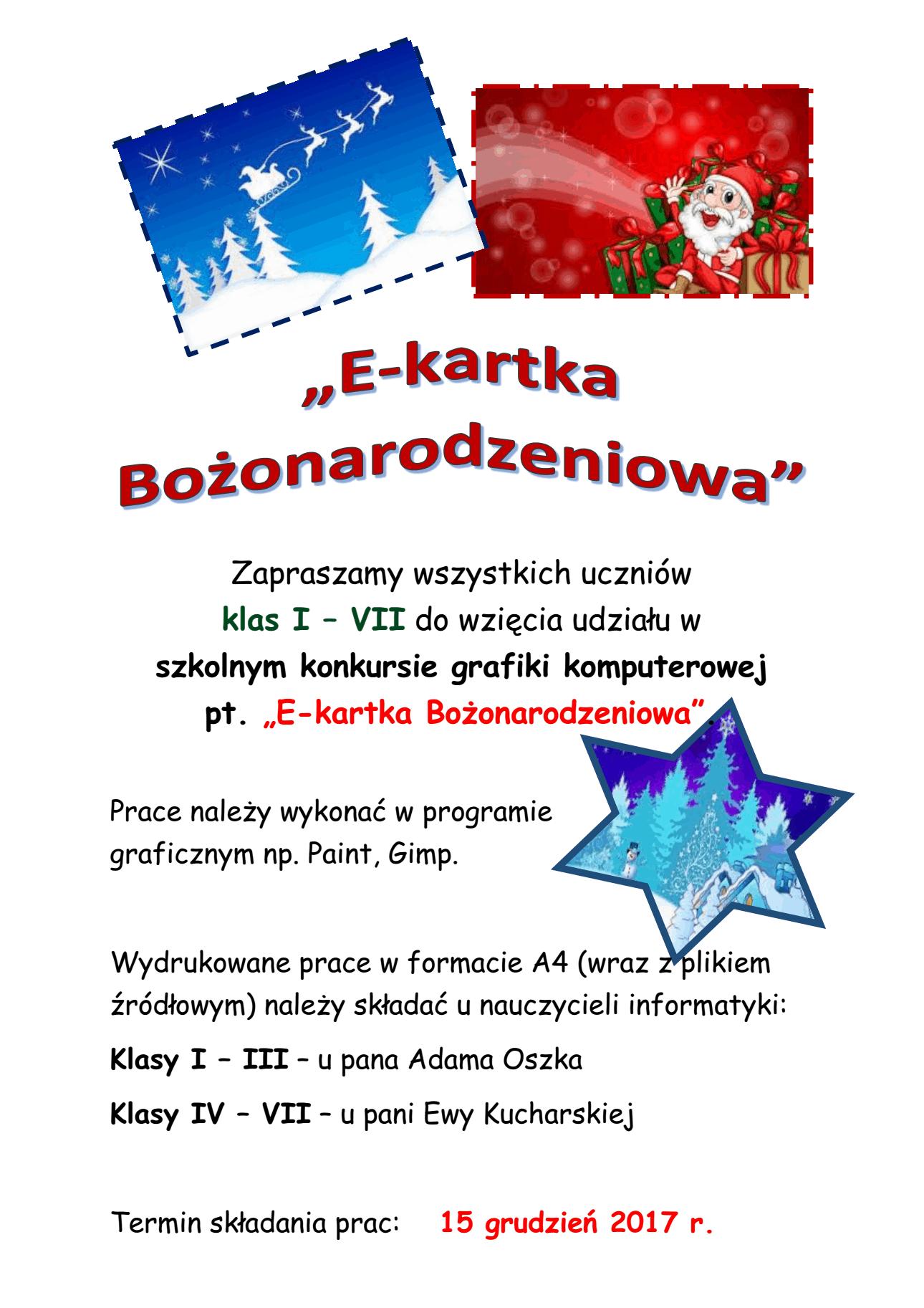 E Kartka Publiczna Szkoła Podstawowa Nr 20